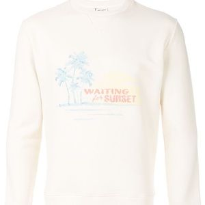 NWT Saint Laurent Waiting for Sunset Sweater